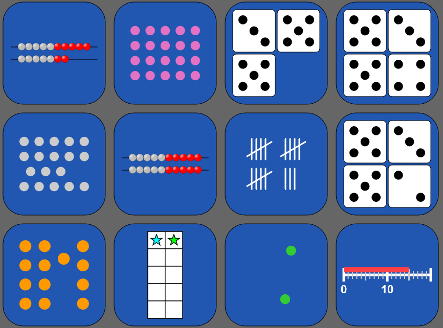 Representation Match - Whole Numbers Image