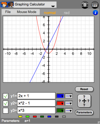 Calculator - Graphing Image
